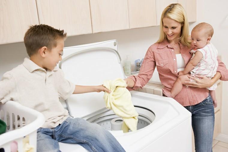 Giặt đúng với khối lượng quần áo quy định trên máy giặt