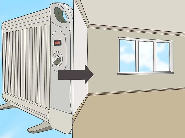 Mua máy sưởi di động có kích thước chính xác cho không gian bạn muốn sưởi ấm