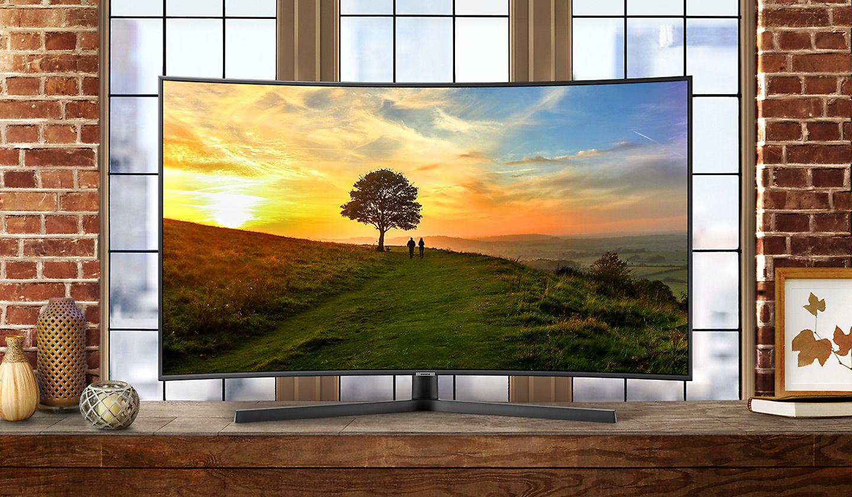 Smart Tivi Cong Samsung UA55NU7500 4K