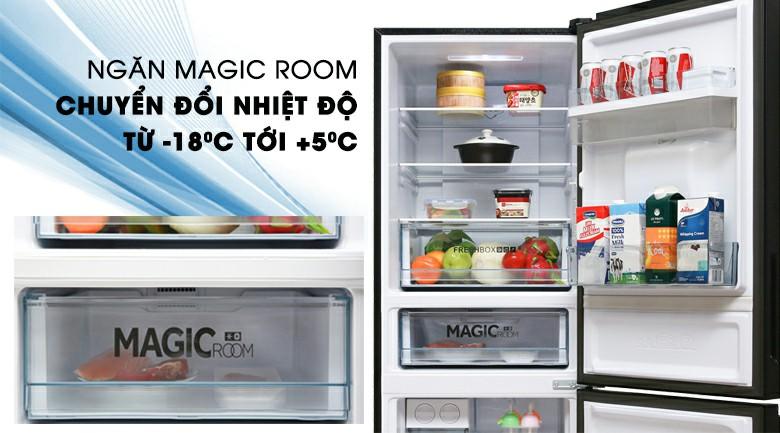 Tủ lạnh AQUA chuyển đổi nhiệt độ linh hoạt