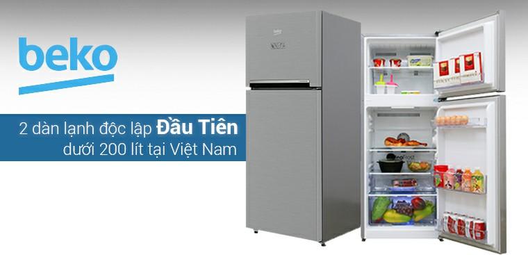 Tủ lạnh Beko ngăn đá dưới 2 dàn lạnh độc lập