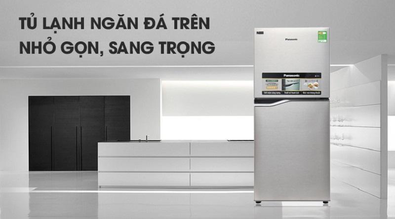 Tủ lạnh Panasonic NR-BA178PSV1 Inverter 152 lít 2