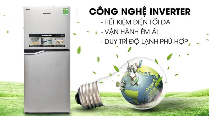 Tủ lạnh Panasonic NR-BA178PSV1 Inverter 152 lít 4