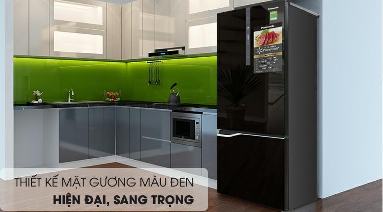 Tủ lạnh Panasonic NR-BV368GKV2 Inverter 322 lít 1