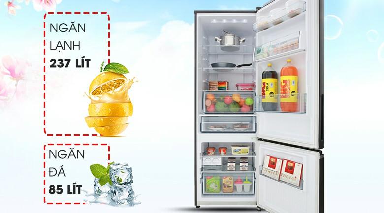 Tủ lạnh Panasonic NR-BV368GKV2 Inverter 322 lít 2