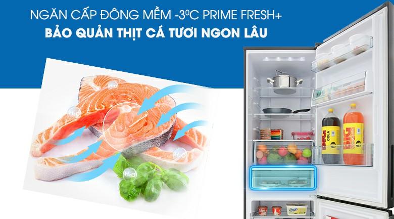 Tủ lạnh Panasonic NR-BV368GKV2 Inverter 322 lít 7