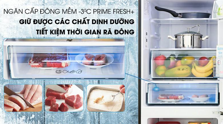 Tủ lạnh Panasonic với ngăn đông mềm Prime Fresh