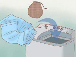 Thêm đệm lót trong máy giặt để đệm giày