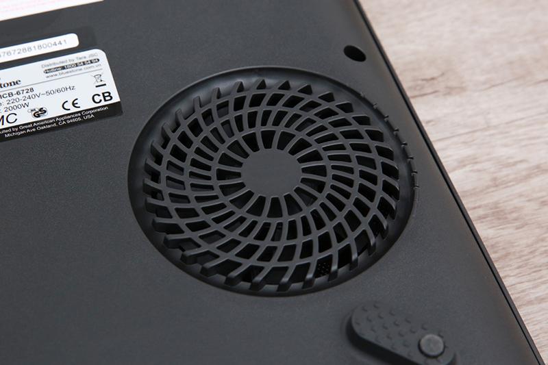 Quạt tản nhiệt thiết kế cỡ lớn cho hiệu suất làm mát bếp tối ưu. Kéo dài tuổi thọ sản phẩm