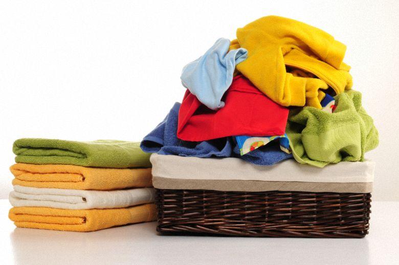 quần áo dùng máy sấy
