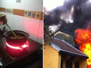 sai lầm khi sử dụng bếp điện