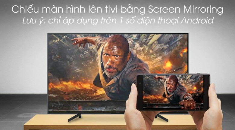 Android Tivi Sony 4K KD-65X8000G 65 inch 10