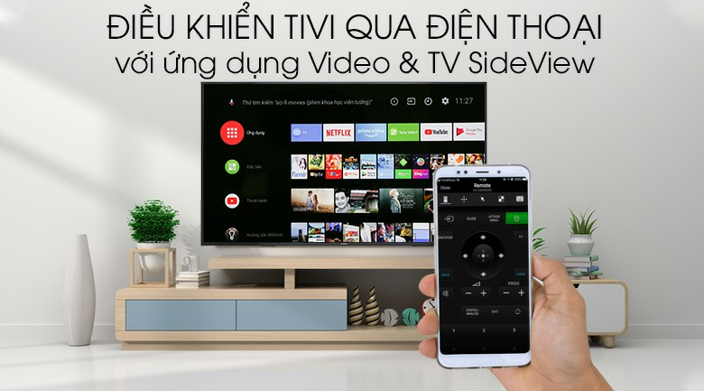 Android Tivi Sony 4K KD-65X8000G 65 inch 11