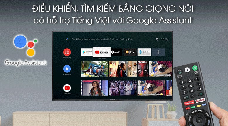 Android Tivi Sony 4K KD-65X8000G 65 inch 9