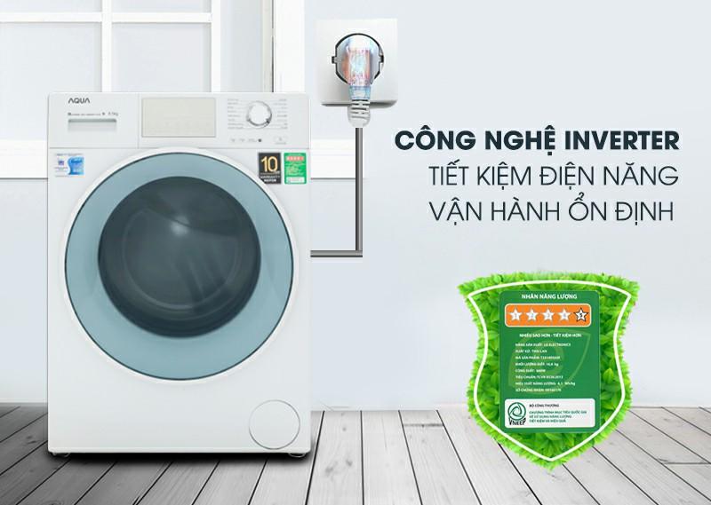Máy giặt AQUA AQD-D850E W Inverter 8.5 kg 2