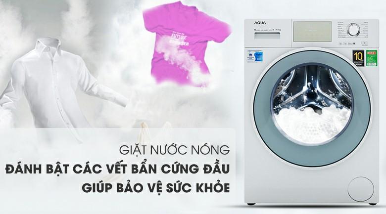 Máy giặt AQUA AQD-D950E.W Inverter 9.5 kg 7