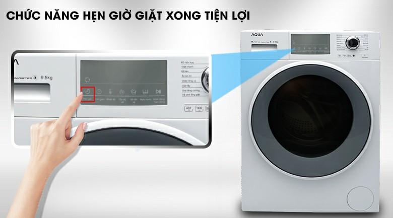 Máy giặt AQUA AQD-D950E.W Inverter 9.5 kg 9
