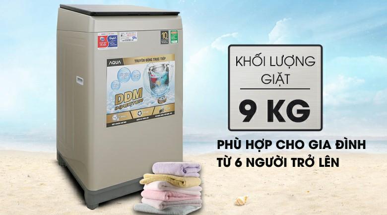 Máy giặt AQUA AQW-D90CT Inverter 9 kg 2