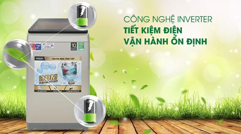 Máy giặt AQUA AQW-D90CT Inverter 9 kg 3