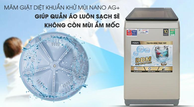 Máy giặt AQUA AQW-D90CT Inverter 9 kg 6