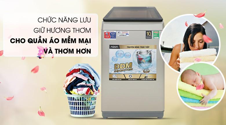 Máy giặt AQUA AQW-D90CT Inverter 9 kg 7