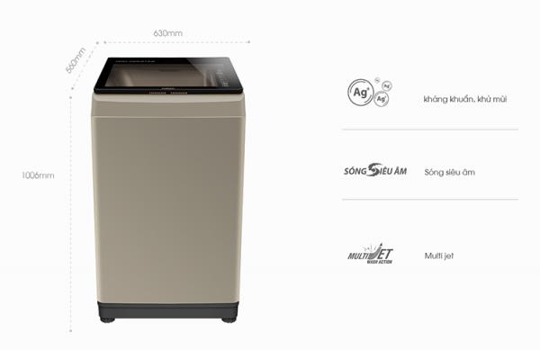 Máy giặt AQUA AQW-U90CT 9 kg 2