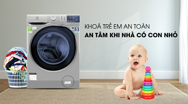 Máy giặt Electrolux EWF9024ADSA Inverter 9 kg 9