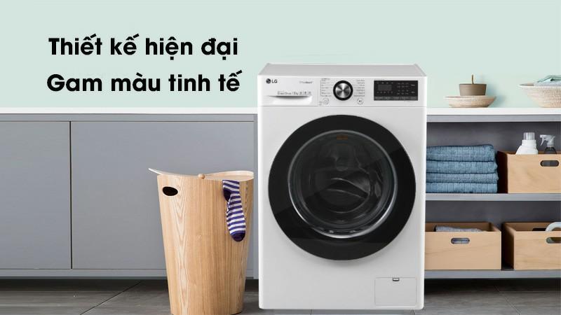 Máy giặt LG FV1450S3W Inverter 10.5 kg 1