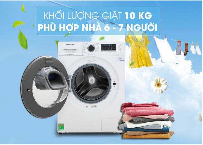 Máy giặt Samsung WW10K54E0UW Inverter 10 kg 4