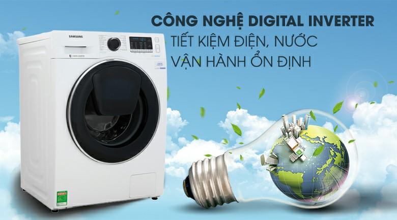 Máy giặt Samsung WW10K54E0UW Inverter 10 kg 5