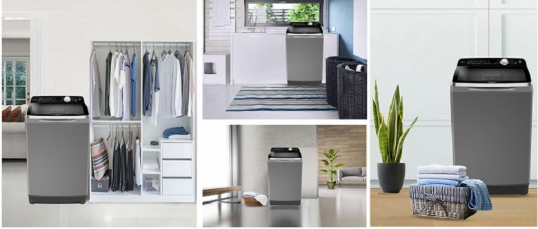 Máy giặt lồng đứng Aqua 10 kg AQW-FR100ET.H 1