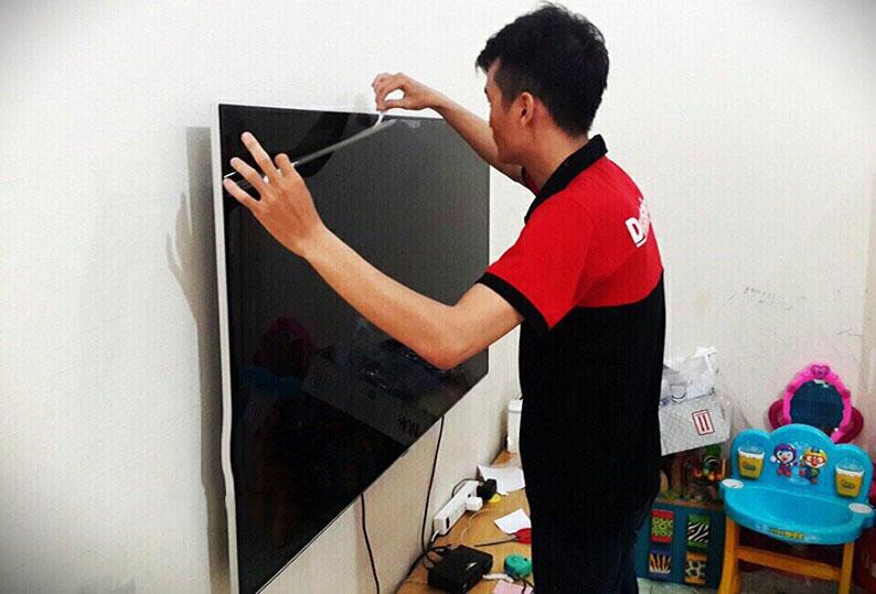 Tăng tuổi thọ tivi bằng cách dán miếng bảo vệ màn hình
