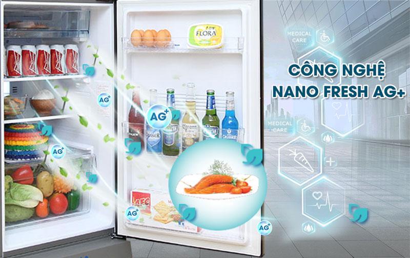 Tủ lạnh AQUA AQR-I465AB Inverter 455 lít 2