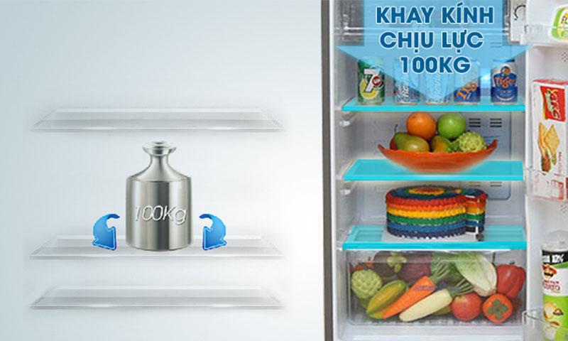 Tủ lạnh AQUA AQR-I465AB Inverter 455 lít 7
