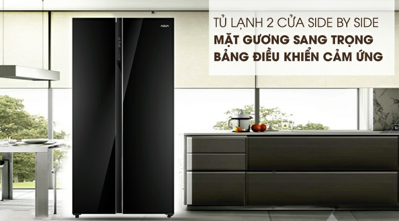 Tủ lạnh AQUA AQR-IG696FS Inverter 602 lít 1