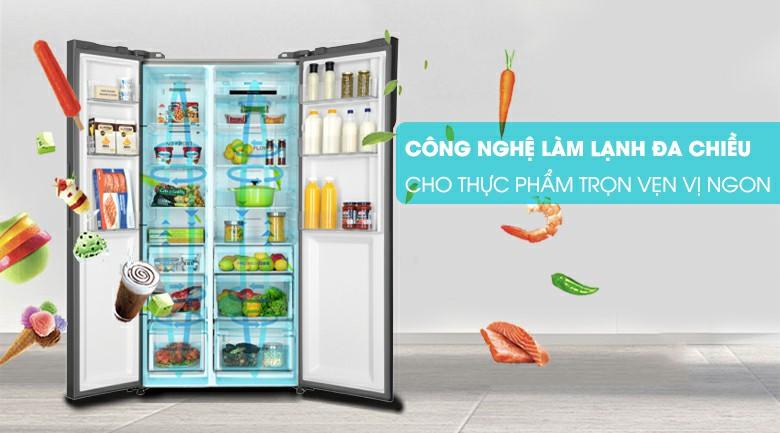 Tủ lạnh AQUA AQR-IG696FS Inverter 602 lít 4