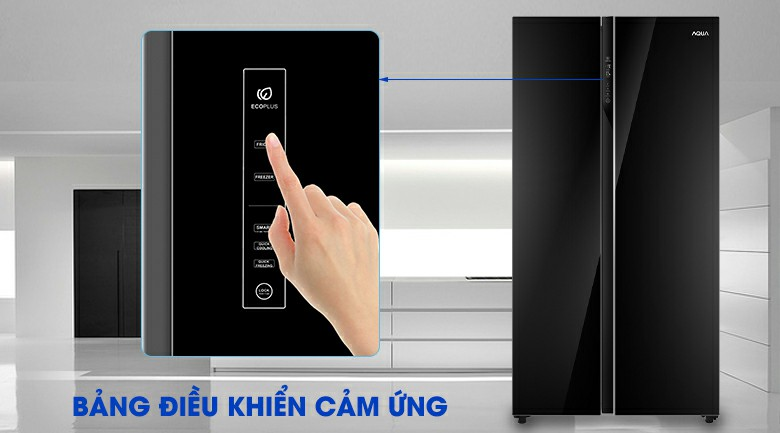 Tủ lạnh AQUA AQR-IG696FS Inverter 602 lít 8