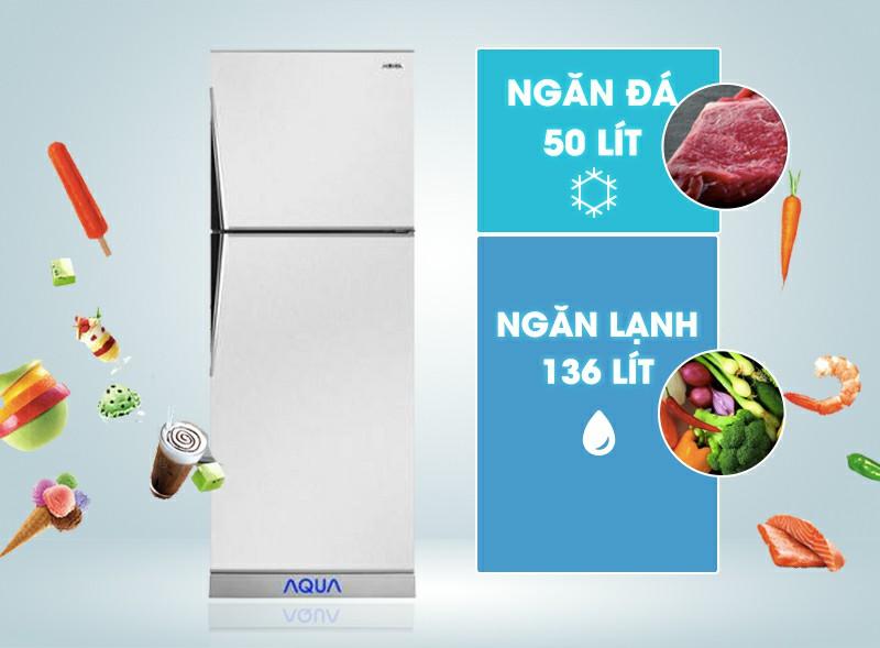 Tủ lạnh AQUA AQR-S205BN 186 lít 1