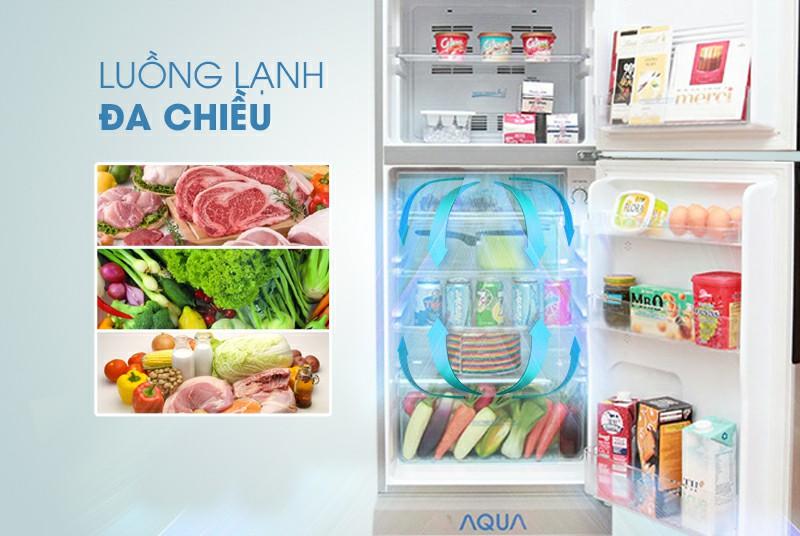 Tủ lạnh AQUA AQR-S205BN 186 lít 2