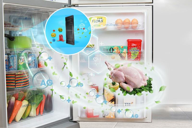 Tủ lạnh AQUA AQR-S205BN 186 lít 3