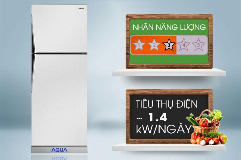 Tủ lạnh AQUA AQR-S205BN 186 lít 4