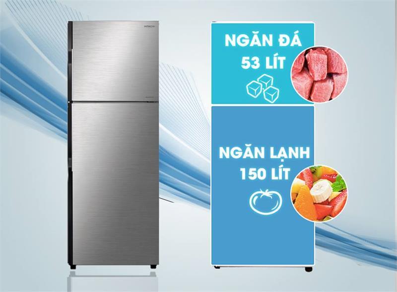 Tủ lạnh Hitachi R-H200PGV7 Inverter 203 lít 2
