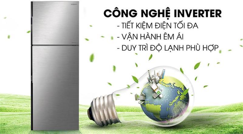 Tủ lạnh Hitachi R-H200PGV7 Inverter 203 lít 3