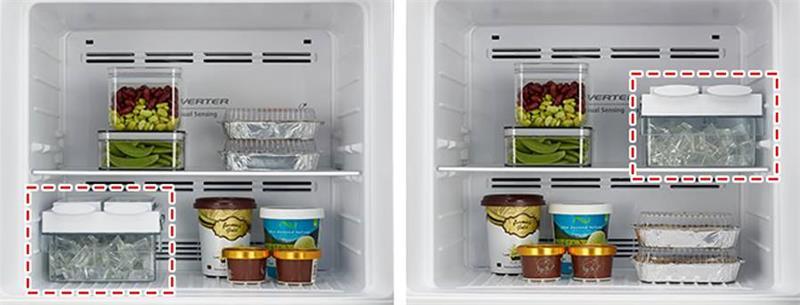 Tủ lạnh Hitachi R-H200PGV7 Inverter 203 lít 6