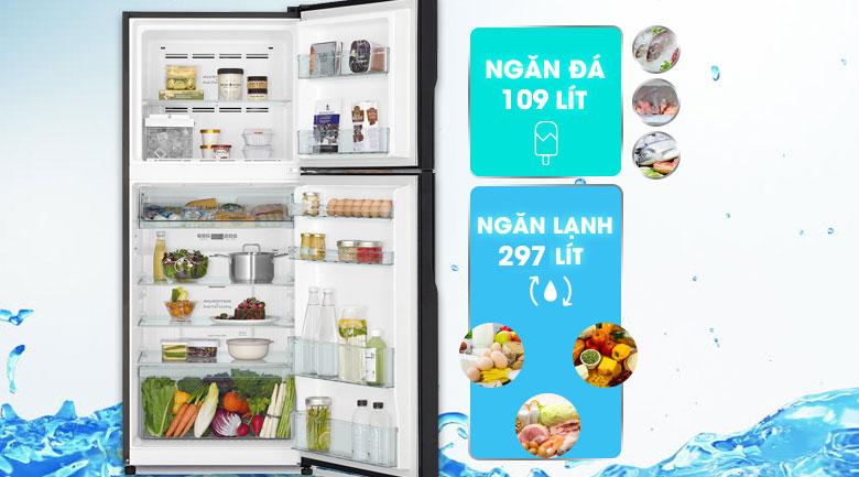 Tủ lạnh Panasonic FG510PGV8 (GBK) Inverter 406 lít 2