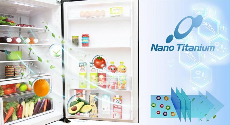 Tủ lạnh Panasonic FG510PGV8 (GBK) Inverter 406 lít 5