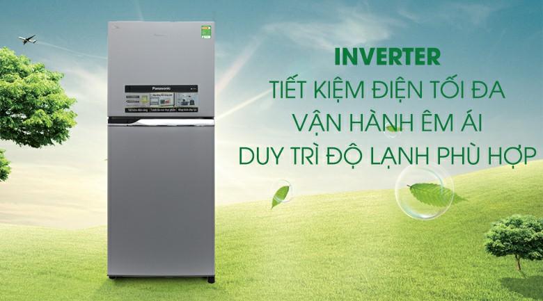 Tủ lạnh Panasonic NR-BL267VSV1 Inverter 234 lít 3