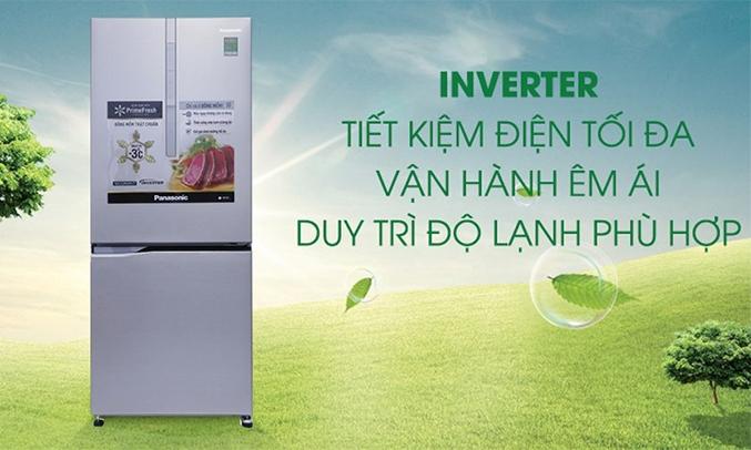 Tủ lạnh Panasonic NR-BV289XSV2 Inverter 255 lít 2