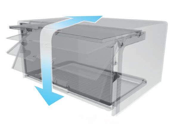 Tủ lạnh Sharp SJ-X251E-DS Inverter 224 lít 3