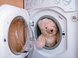 Thú nhồi bông máy giặt